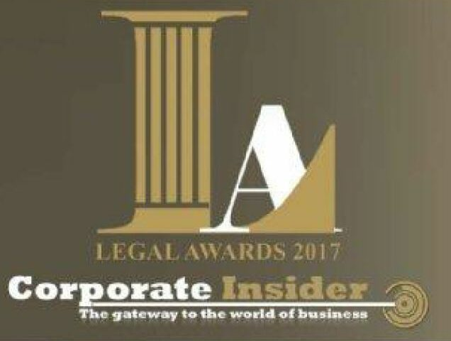 """""""Corporate Insider"""": Excellence in M&A Law of 2017 for Afik & Co."""