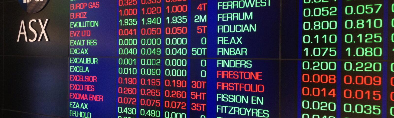 Australia's ASX seeks dual-listing agreement with TASE