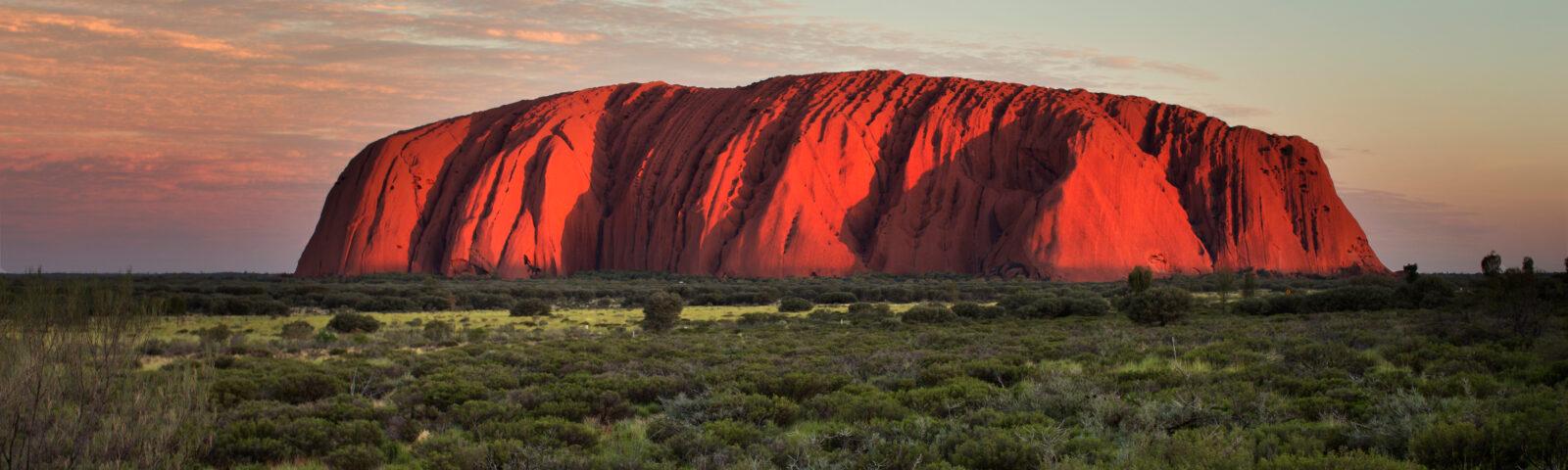 On Uluru and international agreements Down-Under